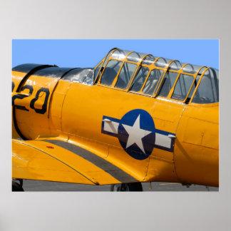 world war II fighter aircraft Print