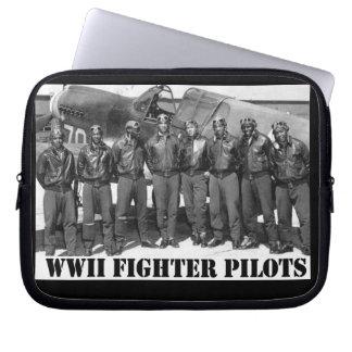 WORLD WAR II FIGHTER PILOTS COMPUTER SLEEVE