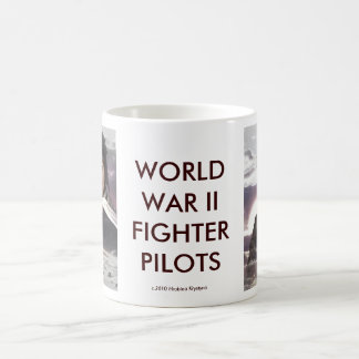 WORLD WAR II FIGHTER PILOTS FEMALE COFFEE MUG