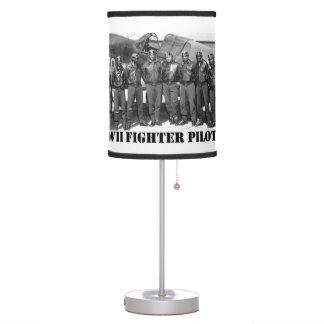 WORLD WAR II FIGHTER PILOTS DESK LAMPS