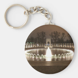 World War II Memorial Keychain