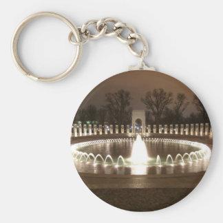 World War II Memorial Keychain