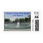 World War II Memorial Postage Stamp