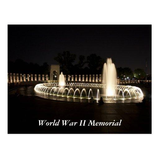 World War II Memorial Post Cards
