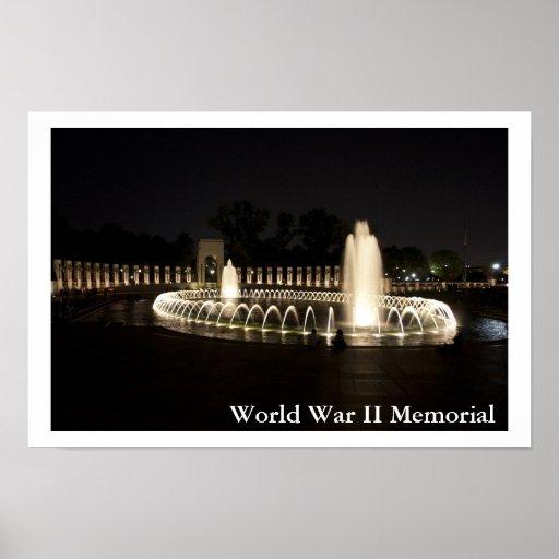 World War II Memorial Print