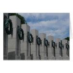 World War II Memorial Wreaths I Card