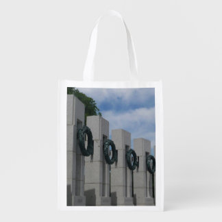 World War II Memorial Wreaths I Grocery Bag
