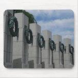World War II Memorial Wreaths I in Washington DC Mouse Pad