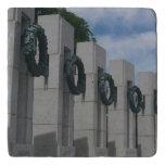 World War II Memorial Wreaths I Trivet