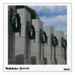 World War II Memorial Wreaths I Wall Decal