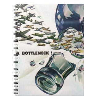World War II military aviation breaking bottleneck Notebook