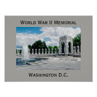 World War II Monument -- art print