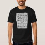 World War II Navy Battleship Recognition Chart T Shirts
