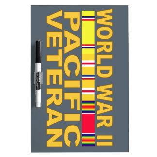 World War II Pacific Veteran Dry-Erase Board