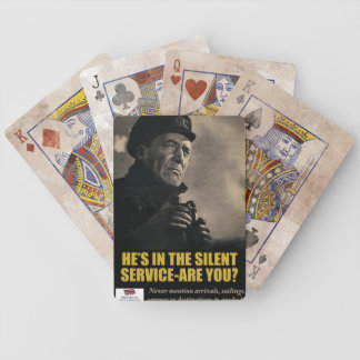 World War II Poster Playing Cards