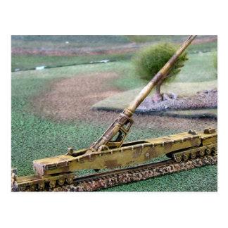 World War II    Railway gun, Anzio Annie A Postcard