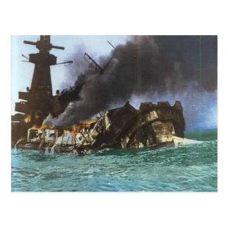 World War II, Sinking of Graf Spey, Montevideo Postcard
