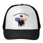 World War II Veteran Mesh Hats