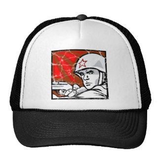 World War II Veteran Russian Trucker Hat