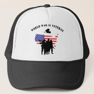 World War II Veteran Trucker Hat