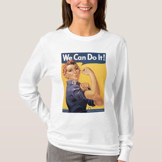World War II Vintage We Can LLS Shirt