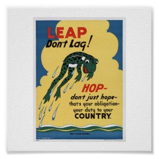 World War ll Propaganda Poster