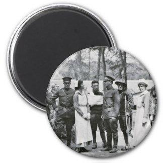 World War One Nurses 2 Inch Round Magnet