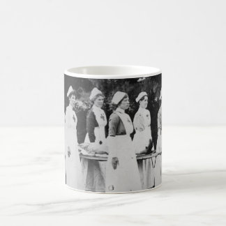 World War One Nurses with Stretcher Coffee Mug
