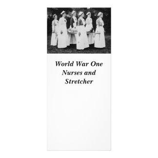 World War One Nurses with Stretcher Rack Card
