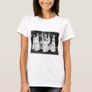 World War One Nurses with Stretcher T-Shirt