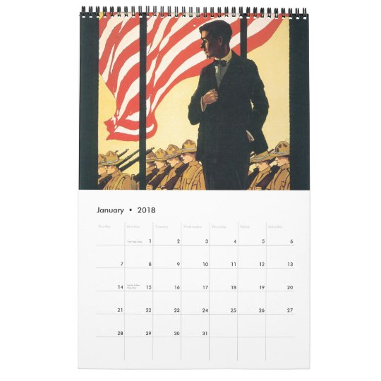 World War Poster Calendar