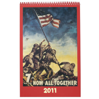 World War Poster Calendar 2011