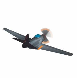 World War Two Aeroplanes Photo Sculpture Keychain