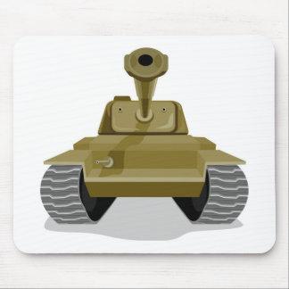 world war two battle tank retro style mousepads