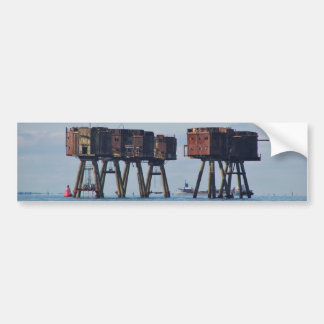 World War Two Estuary Defences Bumper Sticker