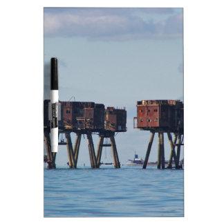 World War Two Estuary Defences Dry Erase Board