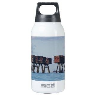 World War Two Estuary Defences Thermos Water Bottle
