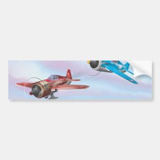 World War Two Fighter Aircraft Bumper Sticker