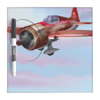 World War Two Fighter Aircraft Dry-Erase Board