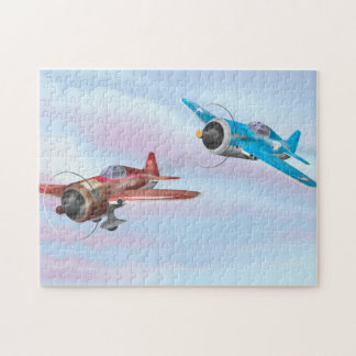 World War Two Fighter Aircraft Jigsaw Puzzle