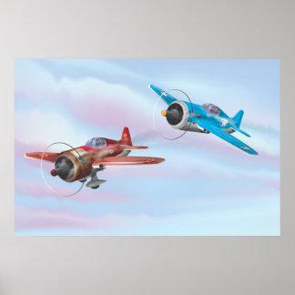 World War Two Fighter Aircraft Print