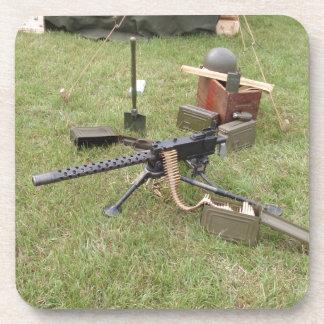 World War Two Machine Gun Drink Coasters