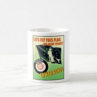 World War Two Minuteman Flag Coffee Mug
