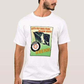 World War Two Minuteman Flag T-Shirt
