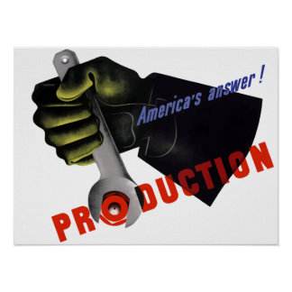 World War Two Production Print