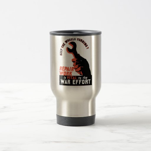 World War Two War Effort Coffee Mug