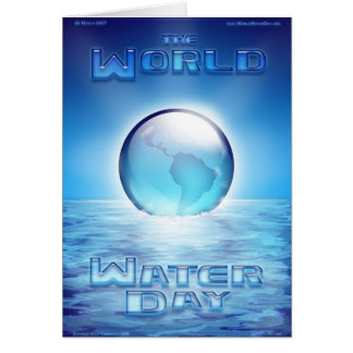 World Water Day Greeting Cards