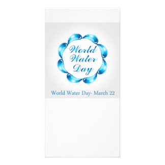World water day March 22 Card