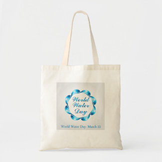 World water day March 22 Tote Bag