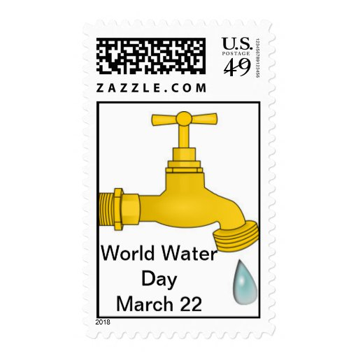 World Water Day, Stamp